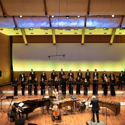 "Choir ""Ave Sol"" and Jānis Ķirsis"